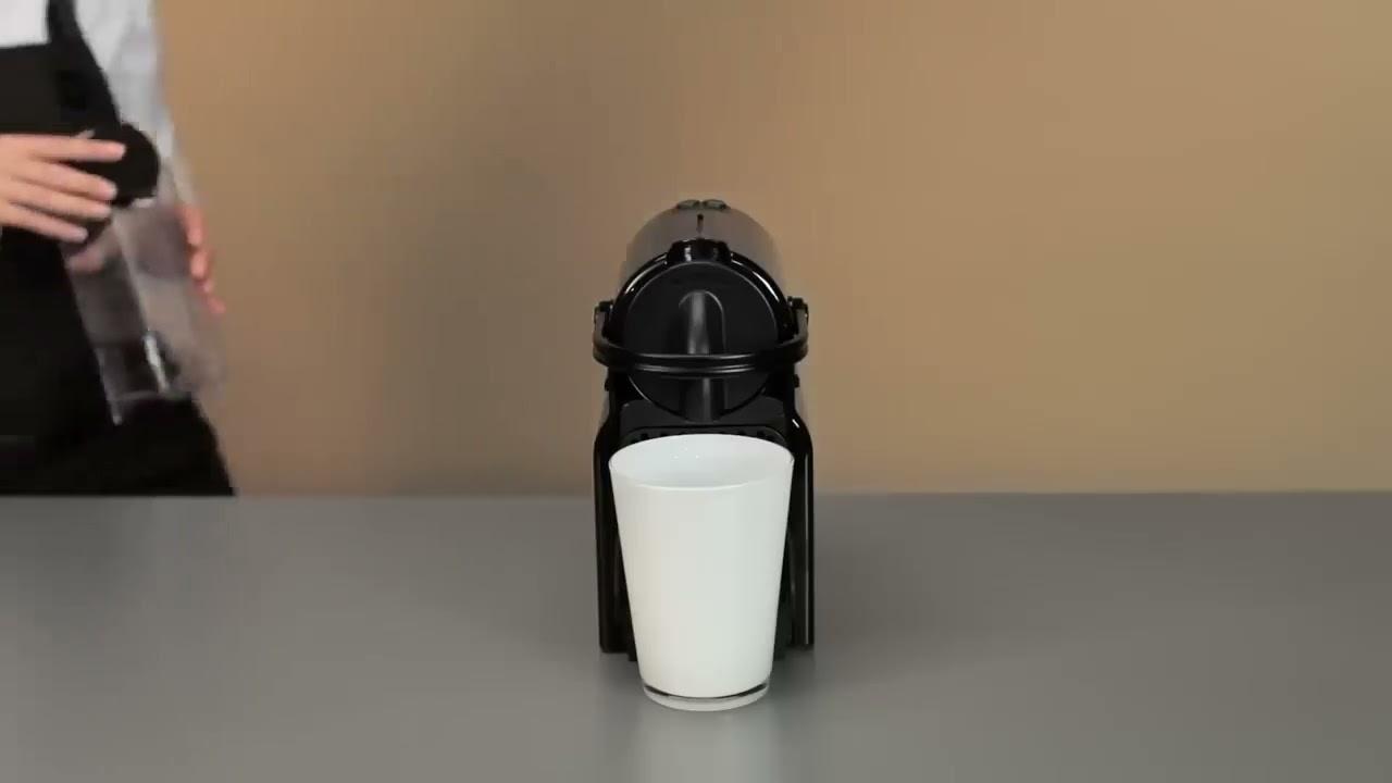 Nespresso Inissia: How to descale your Inissia machine ...