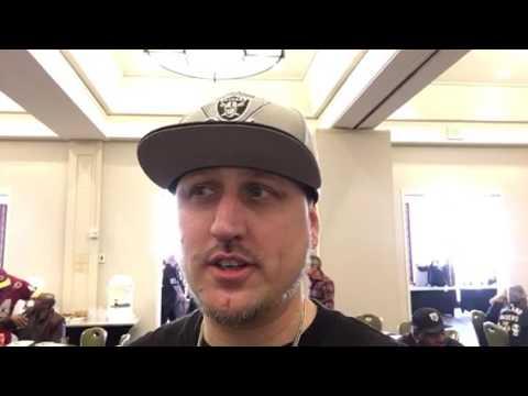 Austin Nobriga Interview Oakland Raiders Fan Conference