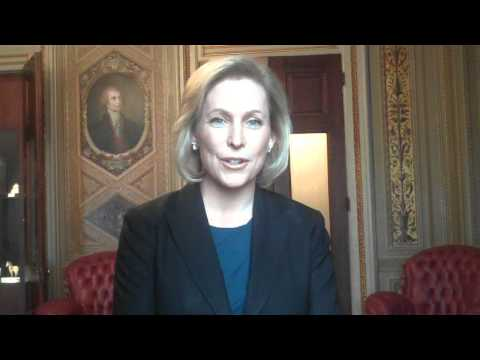 Kirsten Gillibrand, U.S. Senator for New York speaks about A Better Balance