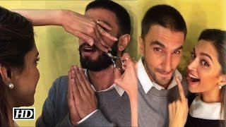 Bajirao Mastani: Deepika Cuts off Ranveer's Moustache
