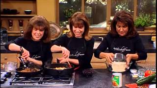 """The Micheff Sisters -- """"tex Mex Fiesta""""  / Cooking With Kelloggs® Featured Recipes"""