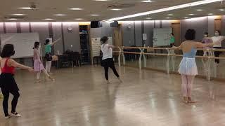 ?초급발레 ballet / 현대백화점 무역센터