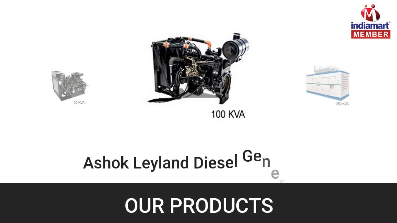 diesel and silent generator by sa diesel engineer greater noida