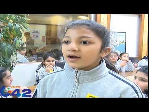 Lahore grammar school Gulberg students visit city42 head office