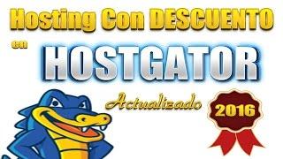 Como Comprar Hosting En Hostgator Con Descuento Del 99 % (primer mes GRATIS) - 2016