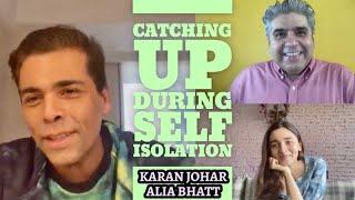 Karan Johar & Alia Bhatt interview with Rajeev Masand I Lockdown I Takht