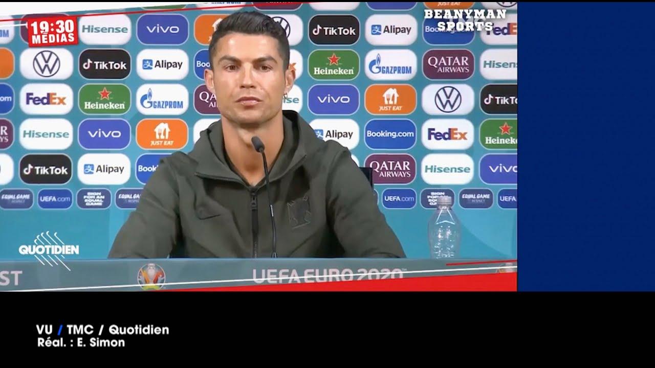 VU du 16/06/21 : Pas de Coca-Cola pour Ronaldo