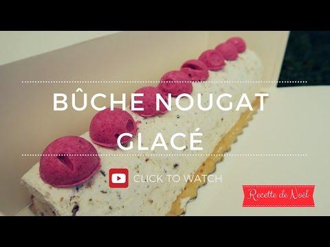 Bûche au nougat glacé (english/french)