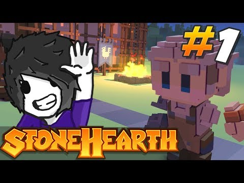 Stonehearth - The Kingdom of Bantonia is Back! Ep #1