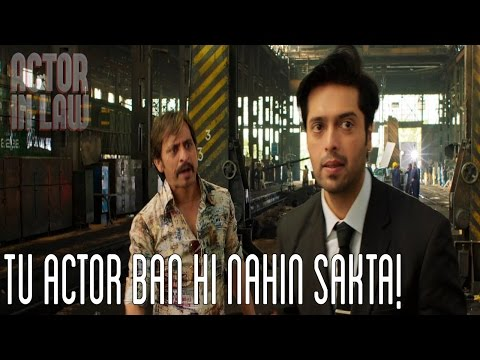 Tu Actor Ban Hi Nahin Sakta! | Fahad Mustafa | Movie Scene | Actor In Law 2016