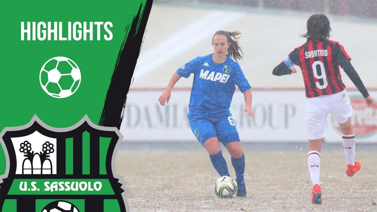 Milan-Sassuolo Femminile 5-2