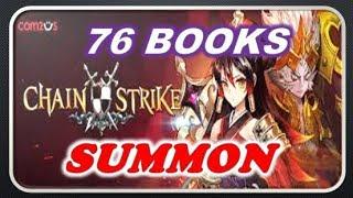 [CHAIN STRIKE] 76 BOOKS summon! OMG! best pull ever!