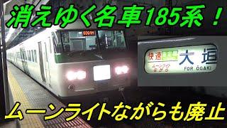【185系大特集!】国鉄時代からの名車185系はどんな車両だったのか?