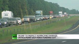 Pres. Trump Praises Florence Relief Effort Despite FEMA Funding Cut