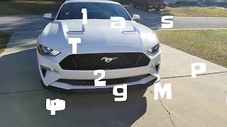 Cars & Coffee in a 2018 Mustang GT