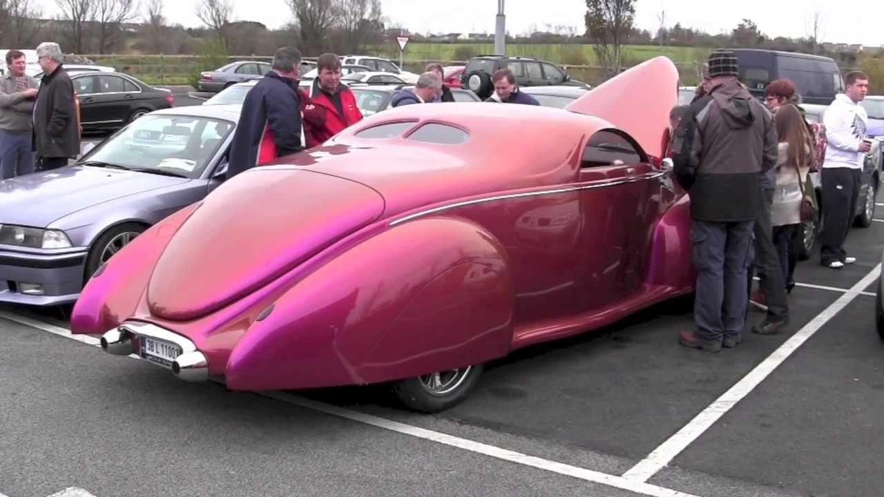 1938 Lincoln Zephyr Custom Start Up Youtube