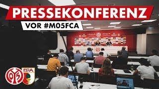 Pressekonferenz vor Augsburg | #M05FCA | 05er.tv