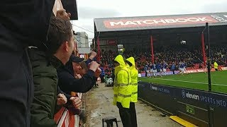 SHEFFIELD UNITED AWAY AT BRENTFORD