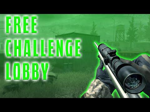 [XBOX/PS3] FREE CHALLENGE LOBBY 2015 (COD4/MW2/MW3)