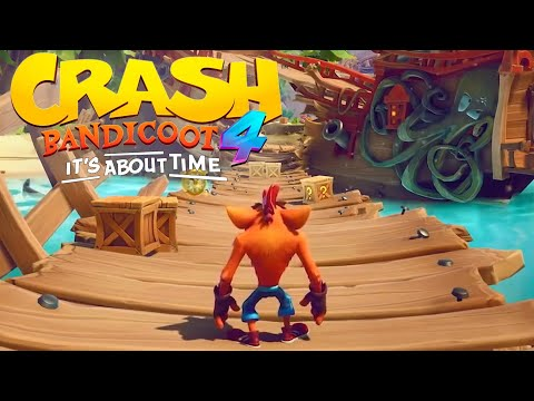 Crash Bandicoot 4: It's About Time – New Gameplay Pirate Beach