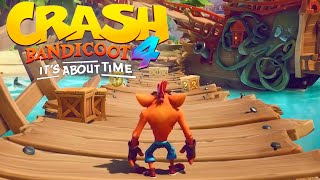 Crash Bandicoot 4: It's About Time - New Gameplay Pirate Beach