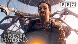 Lin-Manuel Miranda's all singing arrival into His Dark Materials | His Dark Materials - BBC