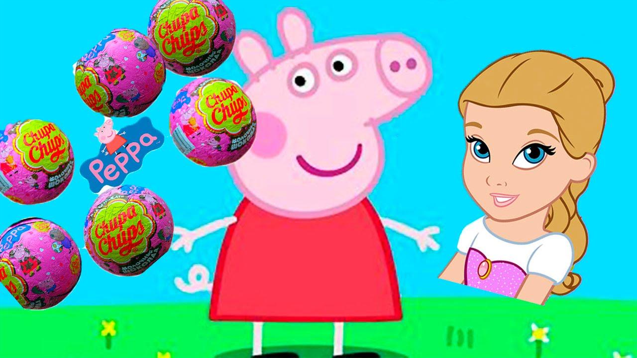 Peppa Pig Свинка Пеппа Шоколадный шар с сюрпризом. Мой ...