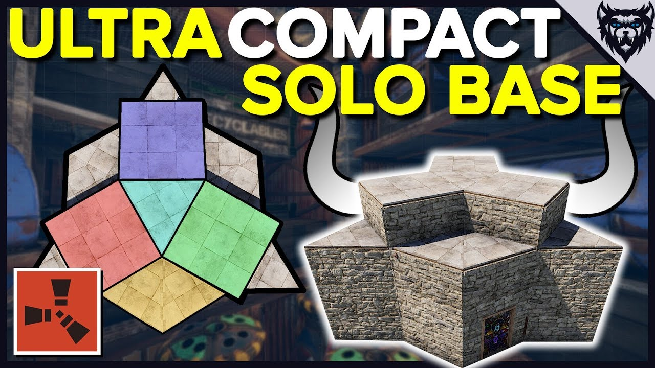 Rust Ultra Compact Rust Base Rust Solo Base Design 2019 Youtube,Character Design Pinterest Sketches