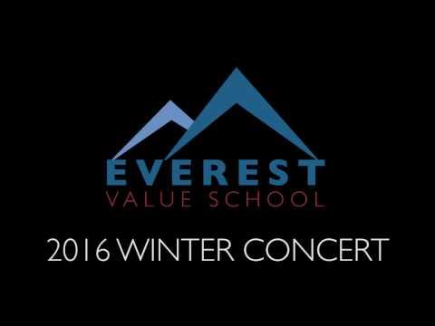 Everest Value School 2016 Winter Concert