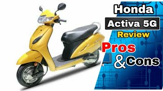 Honda Activa 5G Review with Pros & Cons, vs Activa 5g vs Tvs Jupiter vs maestro edge