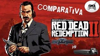 RED DEAD REDEMPTION 2 / Comparativa XBOX ONE X vs PS4 PRO / y su MUNDO ABIERTO