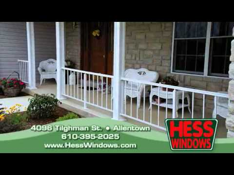 Hess Windows Allentown, PA | Awnings & Railings for Home of Business