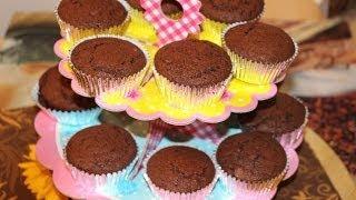 Рецепт- Шоколадные маффины от videokulinaria.ru