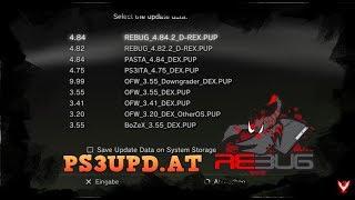 Einfache Rebug DEX Updates   PS3 CFW DEX Update PUP Server   Rheloads