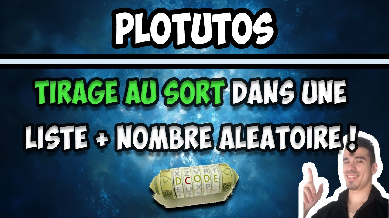 Site de tirage au sort youtube - Alphabet tirage au sort ...