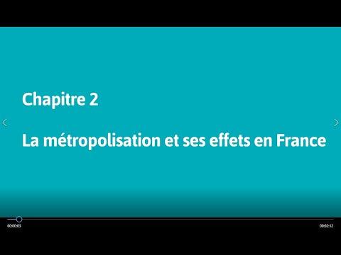 Géo 1re : La métropolisation et ses effets en France