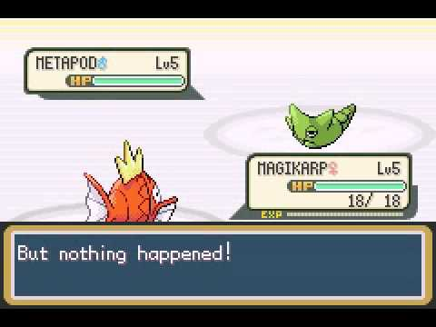 how to get a magikarp in pokemon y