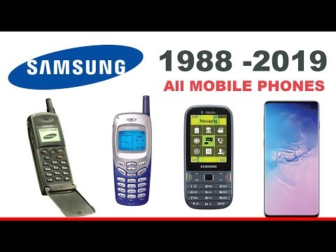 All Samsung Phones (1988 To 2019)