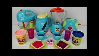 Elsa and Anna Play Doh DIY Creation Home Kitchen BBQ Cooking Pretend Play!