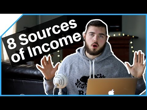 My 8 Sources Of Passive Online Income