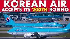 KOREAN AIR takes delivery of 200th Boeing