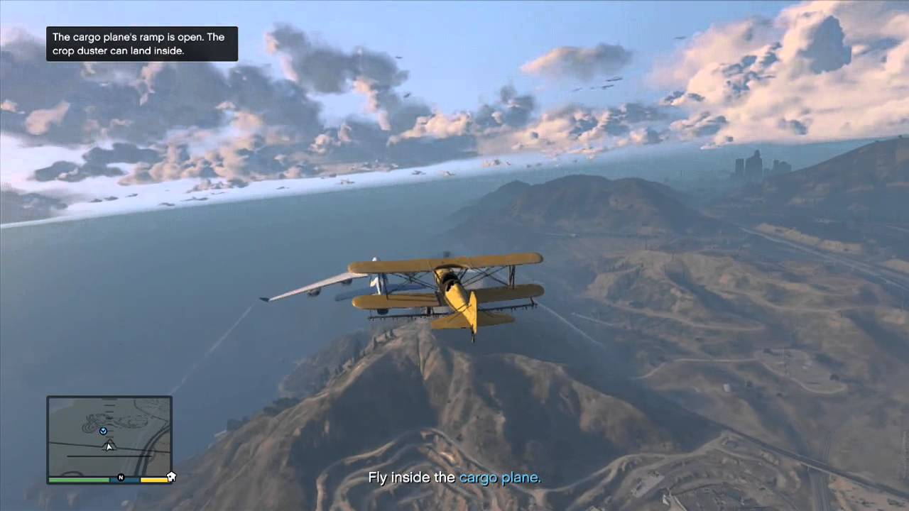 GTA 5 Adventures - Cargo Plane Takeover - YouTube