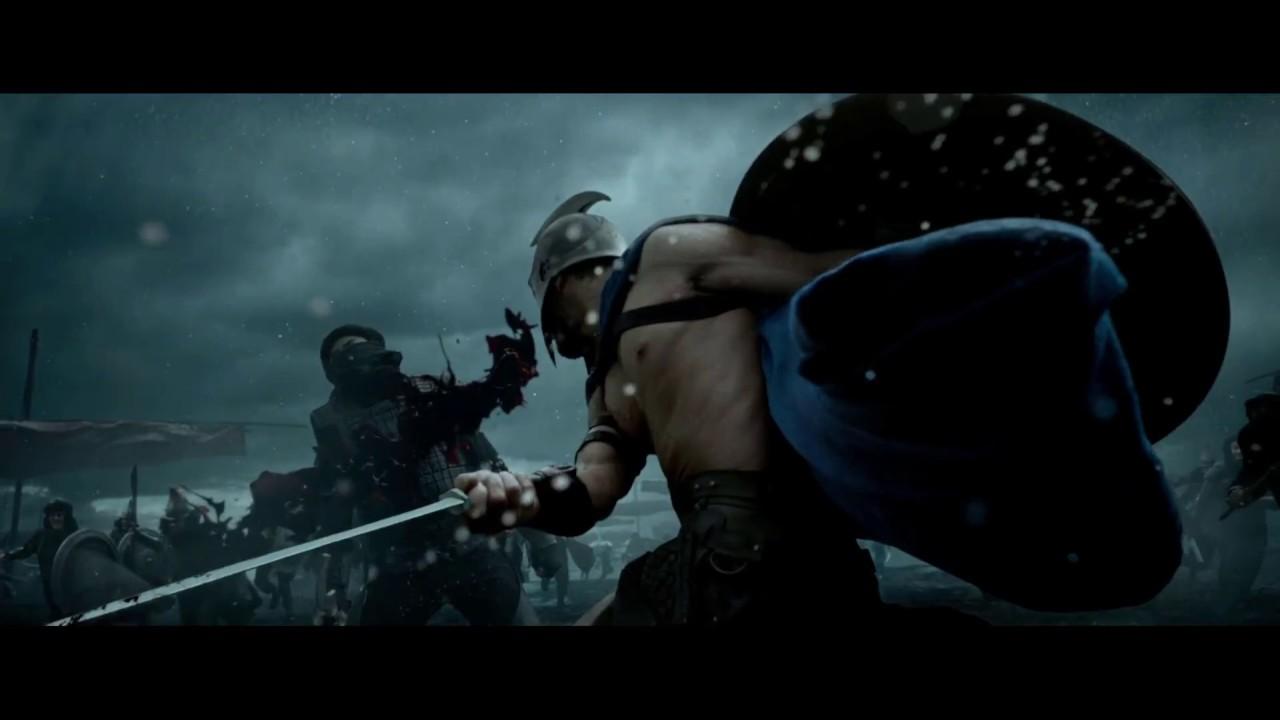 Download 300 Rise of Empire | Epic Fight Scene | Spartans vs Persians Intro | King Darius Got Killed