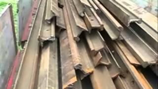 Zatrzymani za kradzież szyn kolejowych