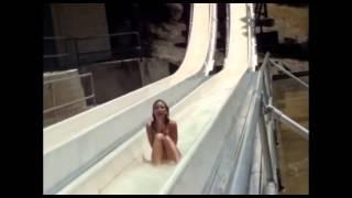 Girl Loses Bikini at Waterpark