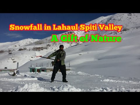 Snowfall in Lahaul Spiti Valley HD (A short Documentary Film).