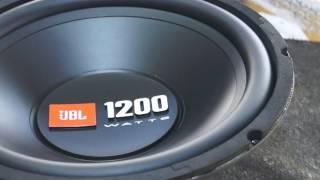 JBL CS1200WSI SUBWOFER UNBOX !! 12 INCH !! 1200 WATT WOOFER !! PRICE 3500 RS