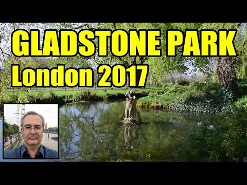 A Walk in Gladstone Park North London 2017