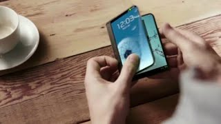 What a folding Samsung smartphone could look like thumbnail