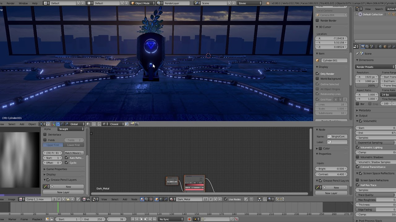 Blender 2 8 Eevee Animated Textures